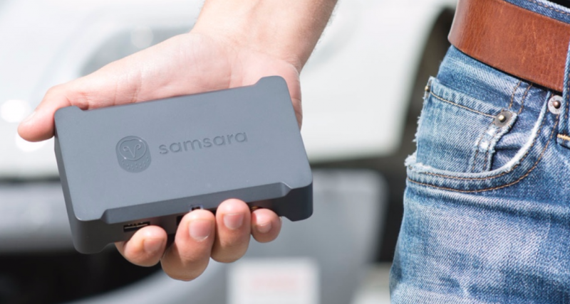 San Francisco Startup Samsara Raises $40M in Fleet Sensoring Tech