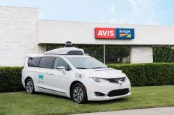 Avis to Maintain Waymo's Fleet of Self-Driving Minivans