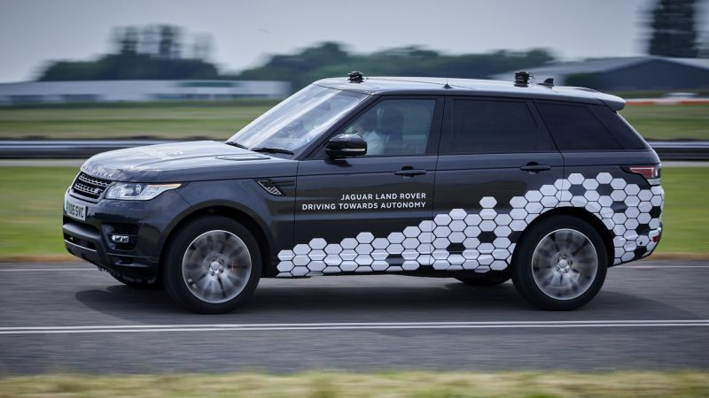 Land Rover Previews SAE-L4 Autonomous Vehicle - FutureCar.com