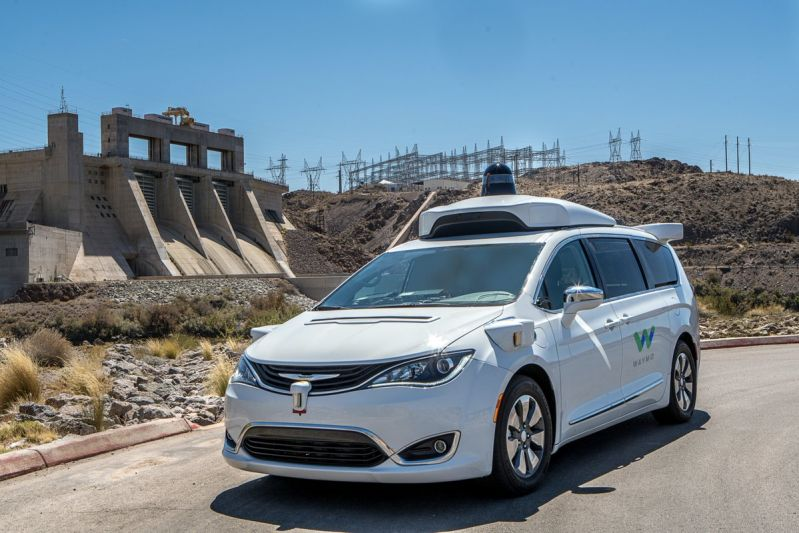 Waymo's Autonomous Cars and Trucks Spotted Testing On Roads
