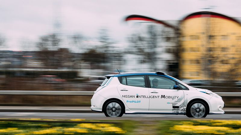 Nissan and Renault to Introduce Autonomous Ride-Sharing and Ride-Hailing Services