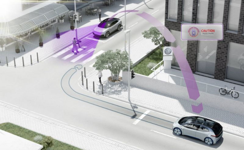 Volkswagen's New Cars Will Communicate With Each Other
