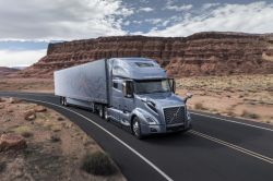Volvo Unveils its New VNL Series Semi-Autonomous Trucks