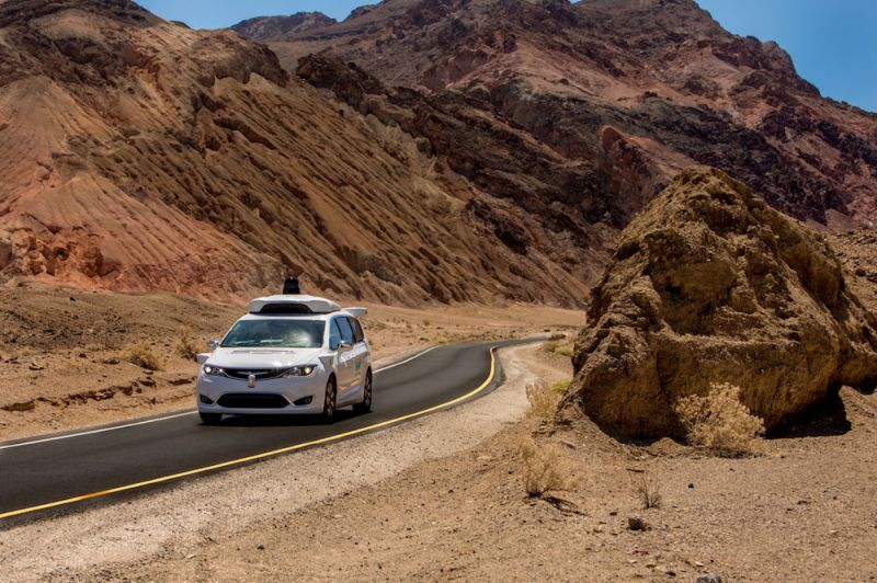 Waymo Readies Autonomous Vehicles for Extreme Heat Testing