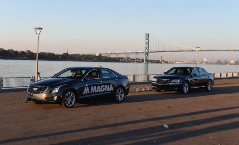 Magna, Continental Become First to Send Autonomous Cars Across International Borders