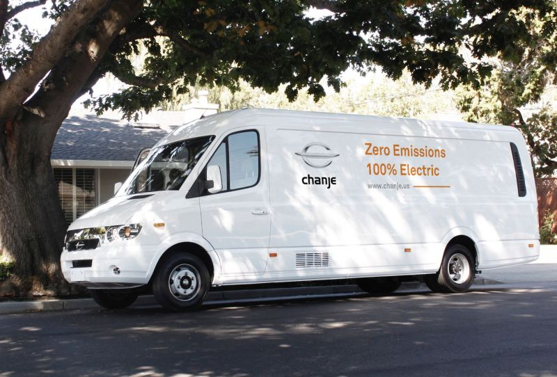 Los Angeles Start-Up Chanje Announces Plans for an All-Electric Commercial Van