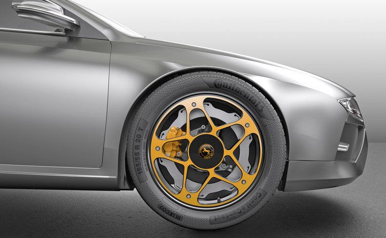 Continental Reveals New Aluminium Braking System for EVs