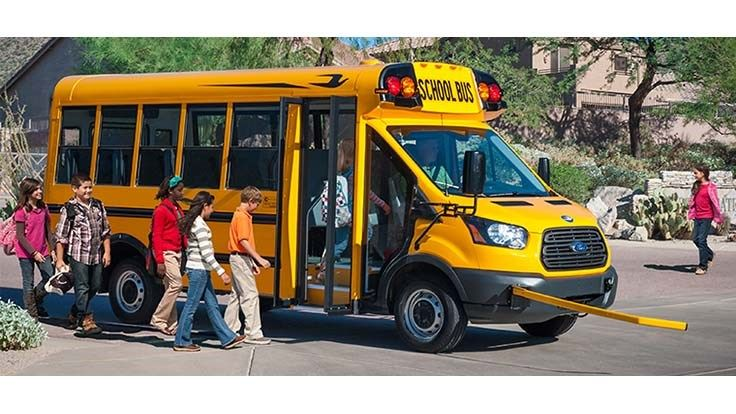 Blue Bird Debuts New Electric School Buses
