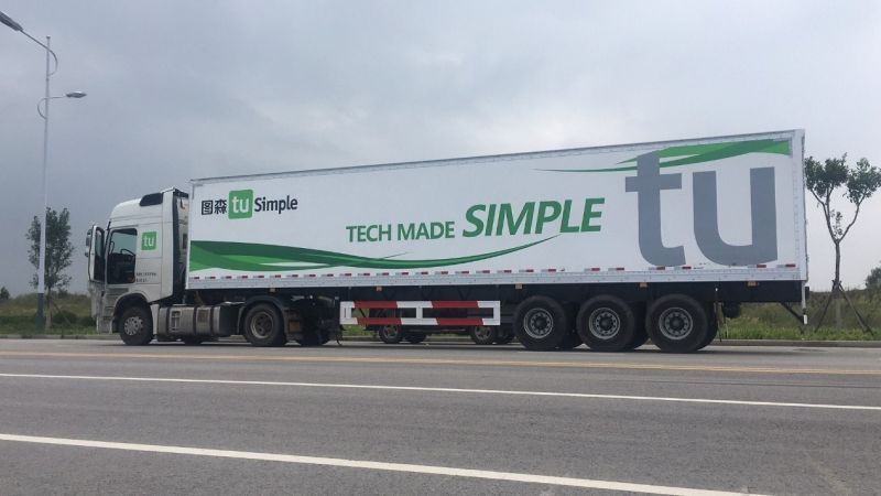 NVIDIA Leads Chinese Driverless Truck Startup TuSimple Series B Funding Round
