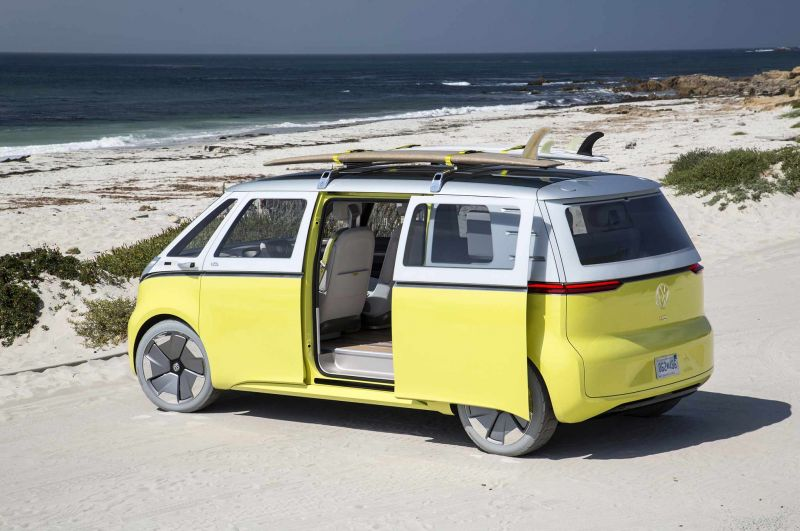 VW to Bring Back an All-Electric 'Microbus'