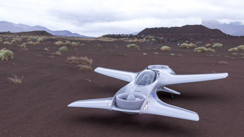 DeLorean Aerospace is Developing a Flying Car with Extreme Range