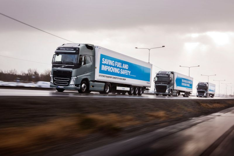 Semi-Autonomous Trucks Set to hit British Roads in 2018