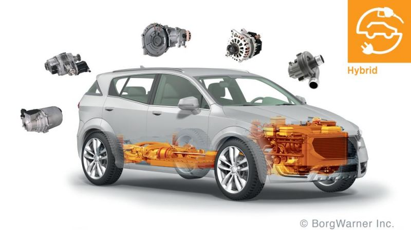 BorgWarner's Leading 48-Volt Technologies Electrify Vehicles for Better Efficiency