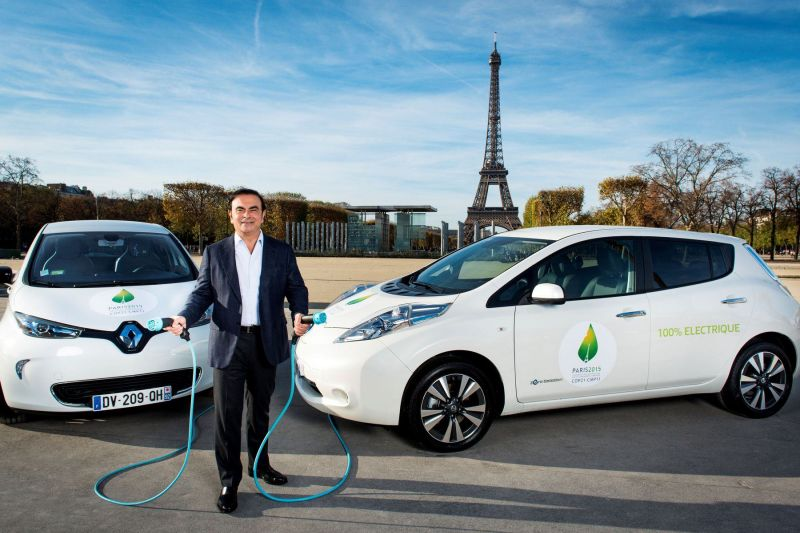 Renault-Nissan Alliance Establishes Plans for 12 EVs and 40 Driverless Cars by 2022