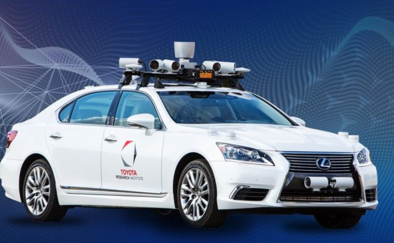 Toyota Research Institute Shows Off its Next-Gen Self-Driving Tech