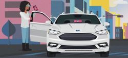 Ford to Partner With Lyft to Deploy Self-Driving Cars