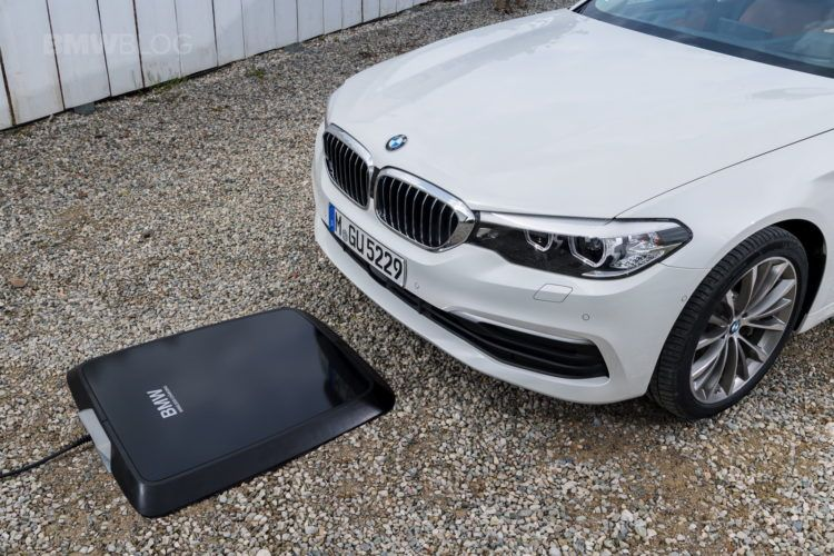 BMW Wants to Charge EVs with a Wireless Pad