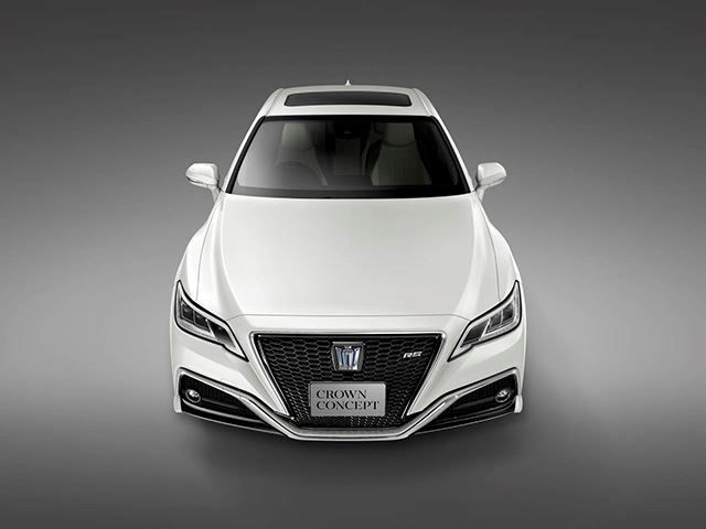 2018 Toyota Crown Concept To Receive New V2v Safety Features