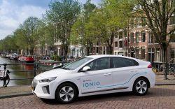 Hyundai Uses 100 Ioniq EVs to Launch Car-Sharing Service