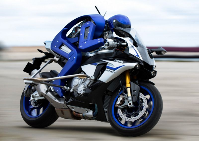 Yamaha's Motorcycle-Riding Robot Pitted Against MotoGP Rider