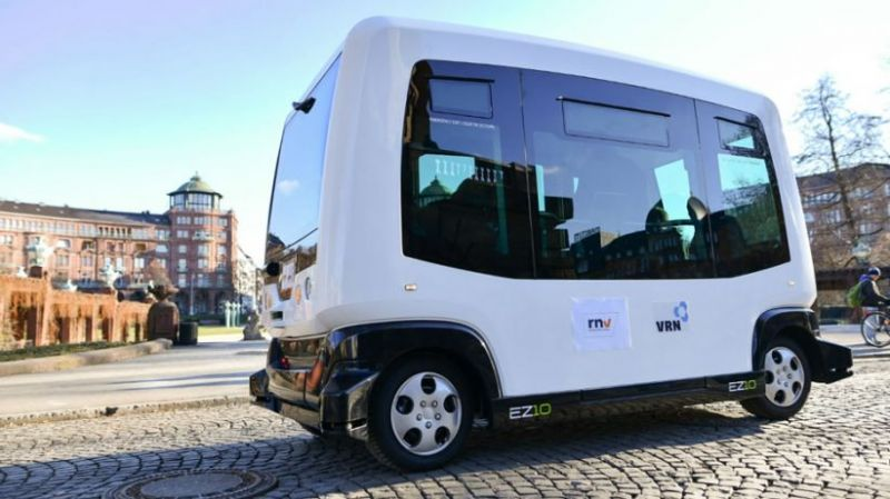 Deutsche Bahn Launches Driverless Bus Trial on Public Roads in Germany