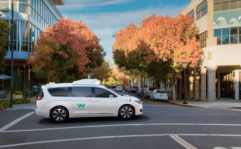 Waymo Autonomous Vans to Operate Without Backup Driver