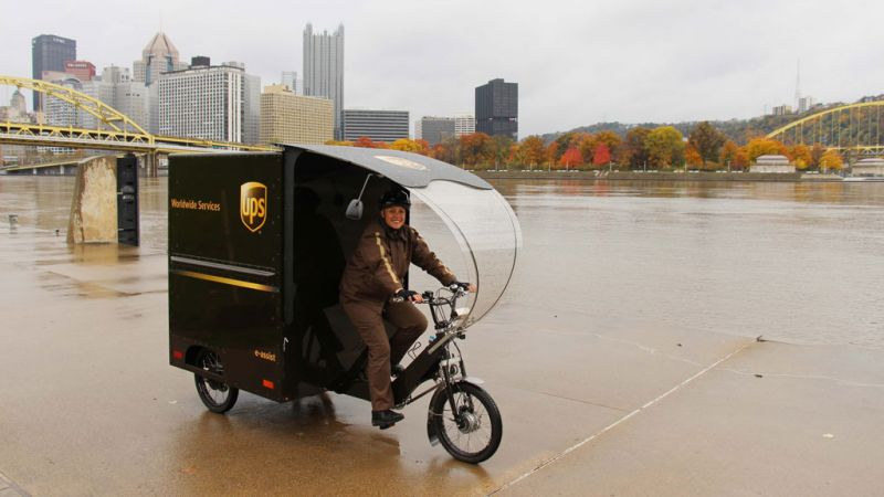 November 13, 2017 News of the Day: UPS launches eBike delivery in Pittsburgh, GM's EV Sales Will Meet Quotas in China by 2019