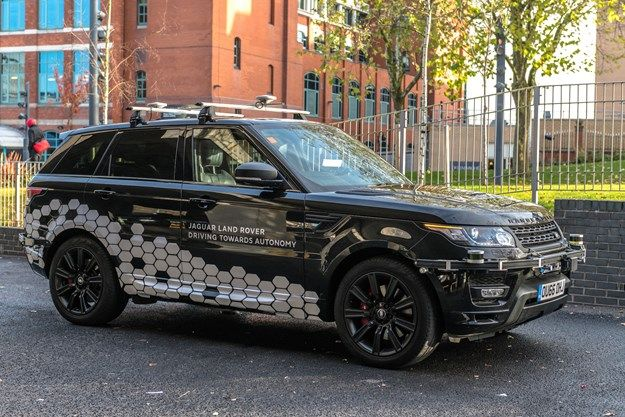 Jaguar Land Rover Begins Testing Autonomous Vehicles on British Roads