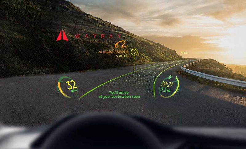 Augmented Reality Startup WayRay Wins Startup Competition at Automobility LA