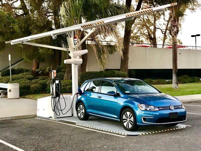 Envision Solar Makes EV Charging Sustainable and Semi-Portable