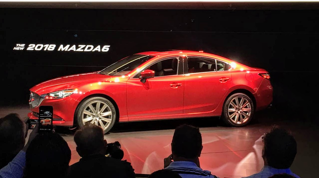 Global Debut of the New 2018 Mazda 6 at Automobility LA