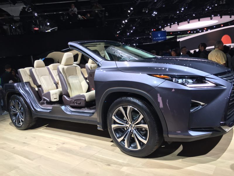 Lexus Rolls Out 2018 Lexus Rx 350l Futurecar Com Via