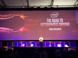 Intel CEO Brian Krzanich Presents Keynote at Automobility LA
