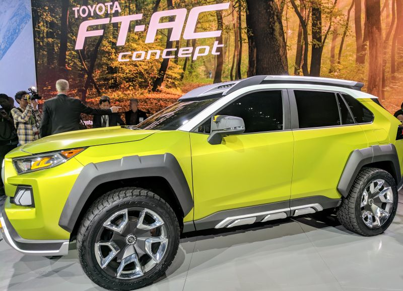 Toyota Debuts Groundbreaking FT-AC Concept Adventure Vehicle at the LA Auto Show