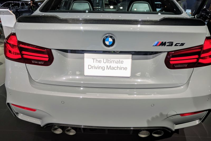 BMW Debuts Limited Edition M3-CS at the Los Angeles Auto Show