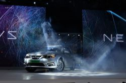 NEVS Launches First All-Electric Car Off of Saab 9-3 Sedan