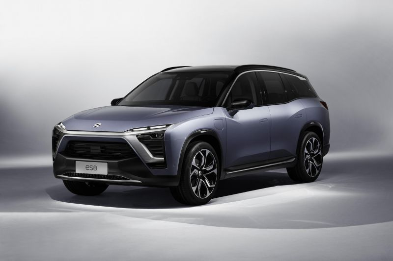 NIO Launches Electric ES8 SUV in China Costing Less Than Tesla's Model X