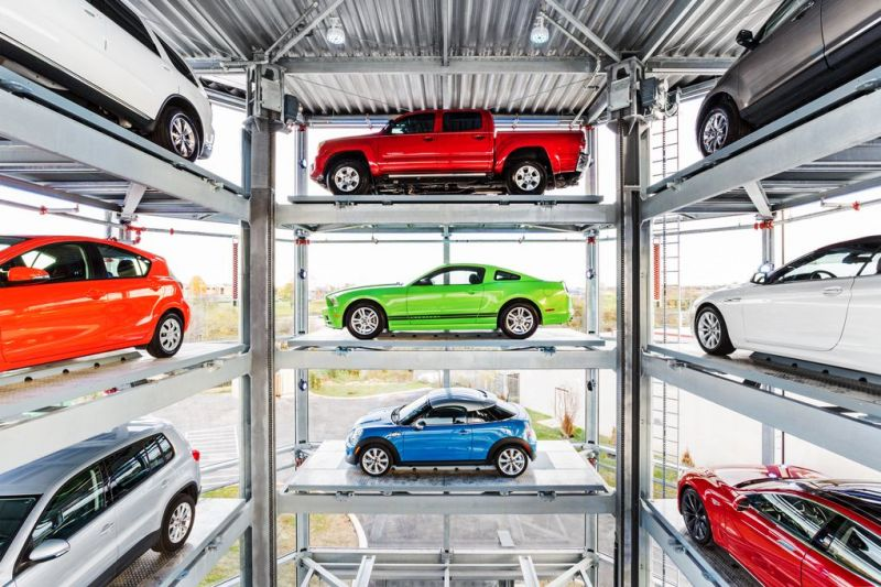 Alibaba Wants to Sell Cars in Large Vending Machines