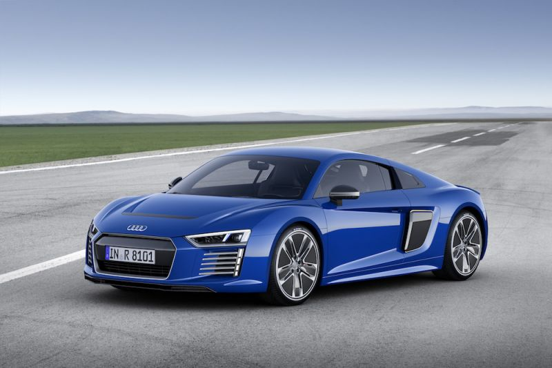 High Performance Ev From Audi Coming In 2020