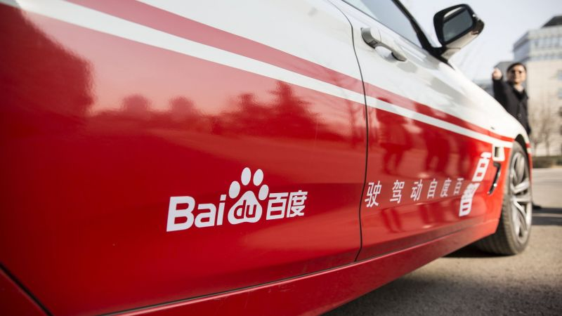 Baidu Sues Silicon Valley Self-Driving Startup JingChi Over IP Theft
