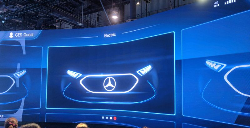NVIDIA Powers Mercedes-Benz MBUX, Its Next-Gen AI Cockpit