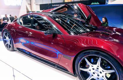 Fisker EMotion Electric Sedan with Solid State Battery Debuts at CES