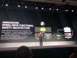 NVIDIA Announces World's First Functionally Safe AI Self-Driving Platform at CES