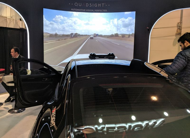Foresight Shows its Stereo Automotive Camera System with Object Detection at CES