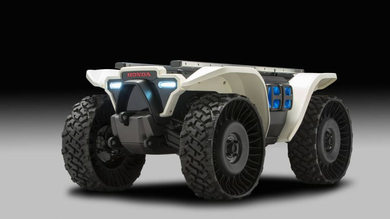 Honda Unveils an Autonomous ATV for Industrial and Agricultural Use