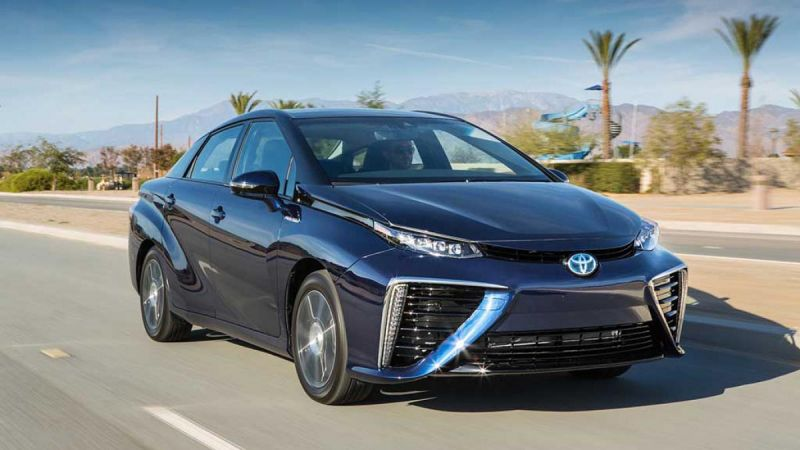 Toyota Surpasses 3,000 Mirai Hydrogen Fuel Cell Vehicle Sales In California
