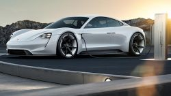With the Mission E, Porsche Looks to Improve EV Charging