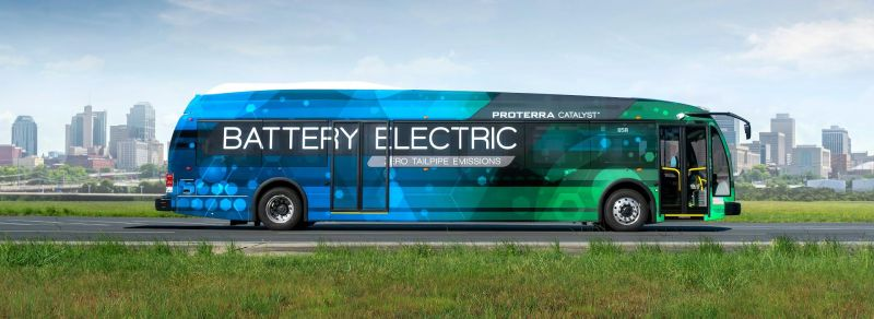 Los Angeles Orders Electric Buses from Proterra