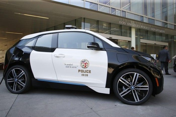 LAPD's Untouched Fleet of Electric Vehicles Sitting Idly by Collecting Dust
