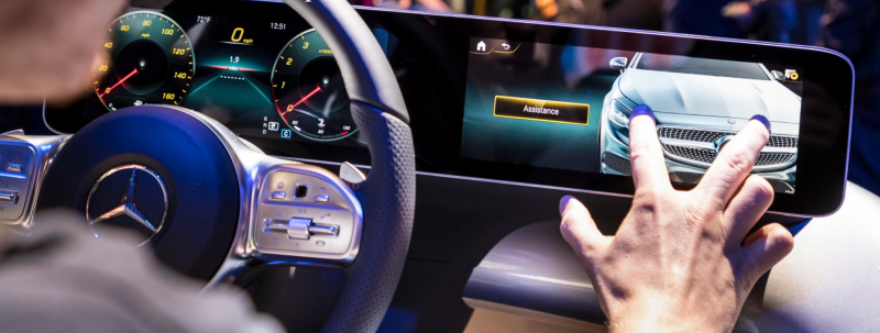 Mercedes Benz Debuts its New A-Class with AI Powered 3D Dashboard Using NVIDIA DRIVE